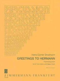 Greetings To Hermann Hans-Günter Brodmann Partition laflutedepan