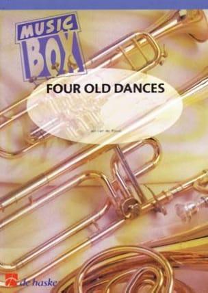 Four old dances - music box Jan van der Roost Partition laflutedepan