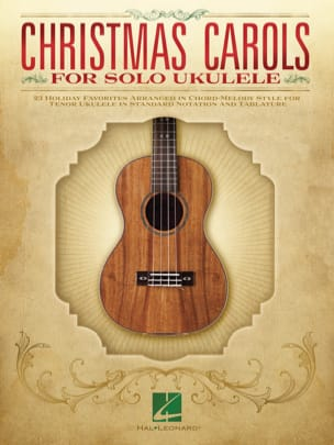 Christmas Carols for Solo Ukulele Noël Partition laflutedepan