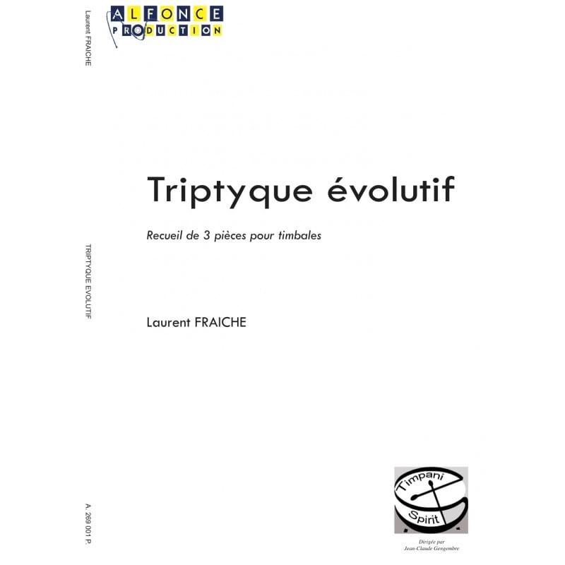 Triptyque évolutif - Laurent Fraiche - Partition - laflutedepan.com