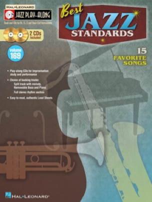 Jazz Play-Along Volume 169 - Best Jazz Standards avec 2 CDs - laflutedepan.com
