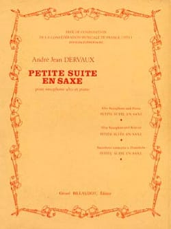 Petite Suite En Saxe André Jean Dervaux Partition laflutedepan