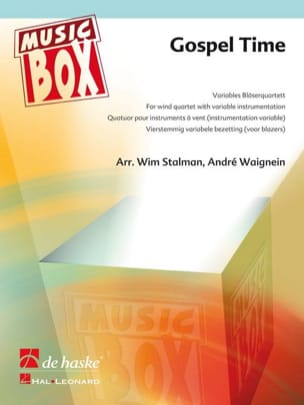 Gospel time - music box Partition ENSEMBLES - laflutedepan