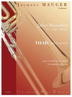 Thaïs méditation MASSENET Partition Trombone - laflutedepan