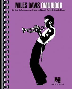 Miles Davis Omnibook - For Bass Clef Instruments laflutedepan