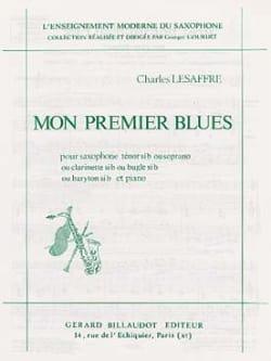 Mon Premier Blues Charles Lesaffre Partition Saxophone - laflutedepan