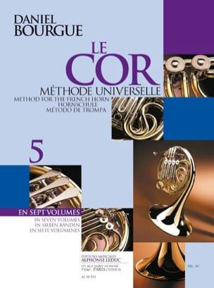 Le Cor Méthode Universelle Volume 5 Daniel Bourgue laflutedepan