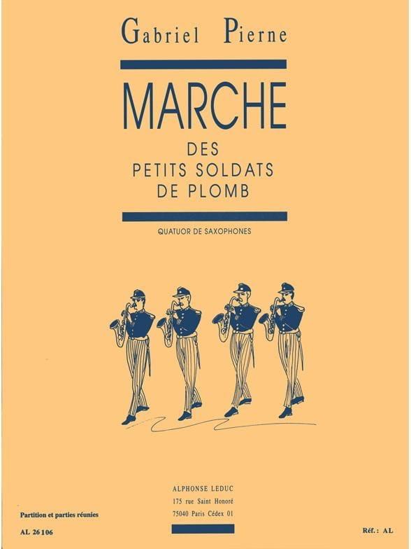 Marche Des Petits Soldats de Plomb - PIERNE - laflutedepan.com