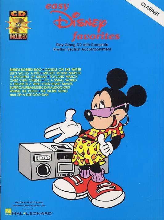 Easy Disney Favorites - DISNEY - Partition - laflutedepan.com