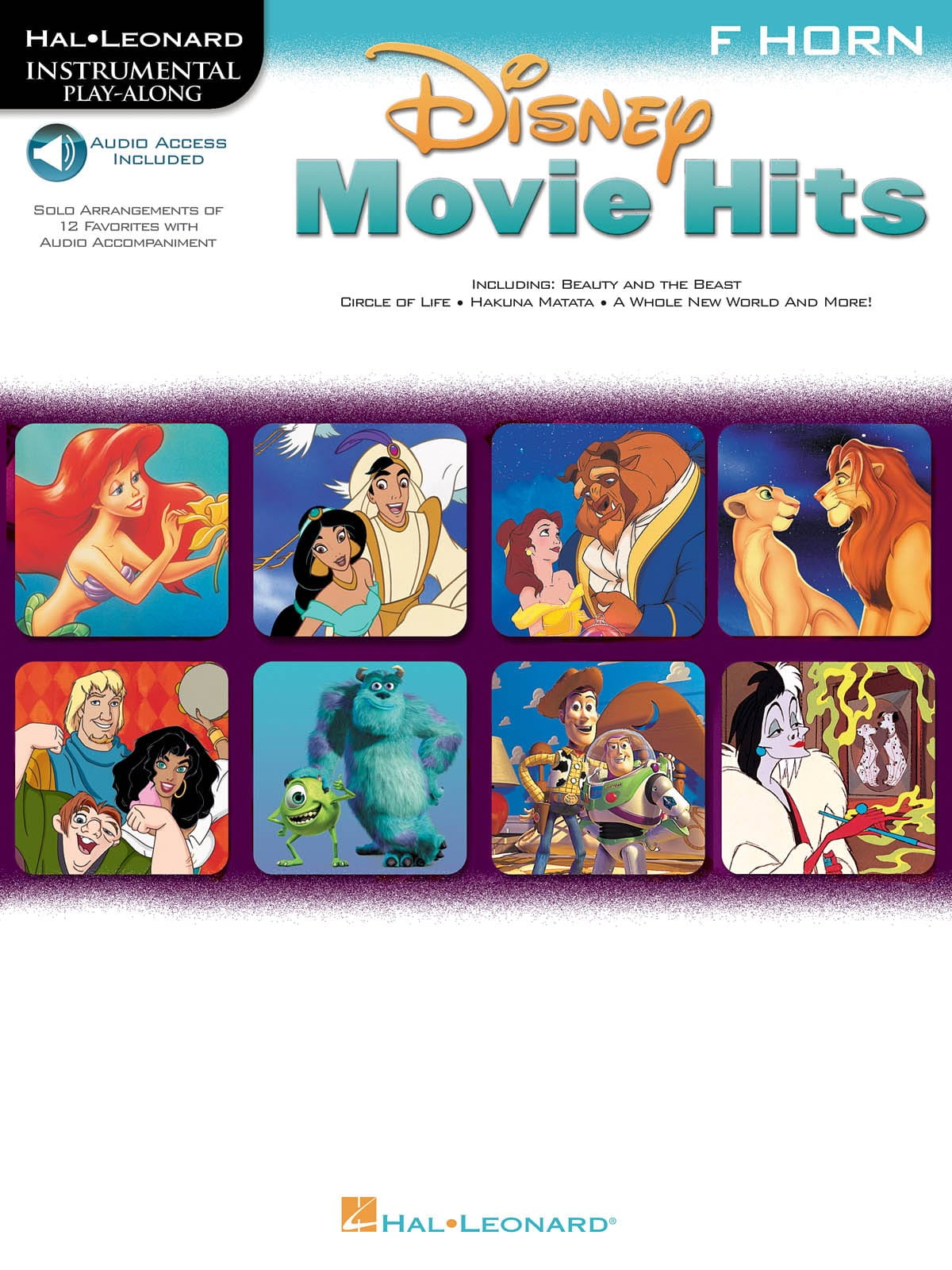 Disney Movie Hits - DISNEY - Partition - Cor - laflutedepan.com