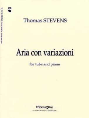 Aria Con Variazioni - Thomas Stevens - Partition - laflutedepan.com