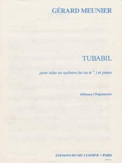 Tubabil Gérard Meunier Partition Tuba - laflutedepan