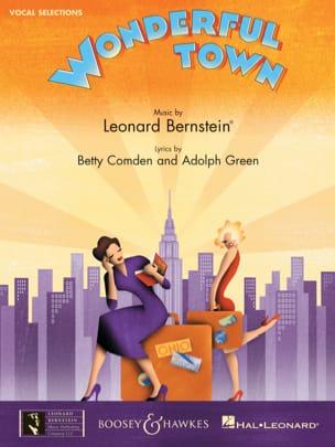 Wonderfull Town - Vocal Selections BERNSTEIN Partition laflutedepan