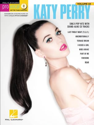 Pro Vocal Women's Edition Volume 60 - Katy Perry laflutedepan