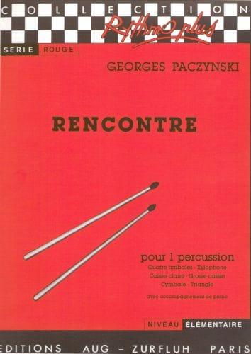 Rencontre - Georges Paczynski - Partition - laflutedepan.com