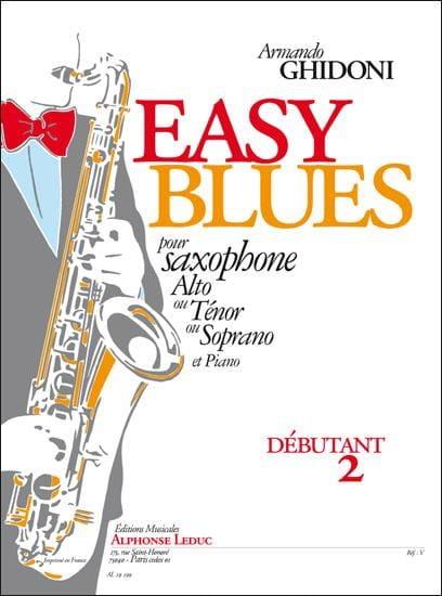 Easy Blues - Armando Ghidoni - Partition - laflutedepan.com