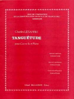 Tanguétude - Charles Lesaffre - Partition - Cor - laflutedepan.com