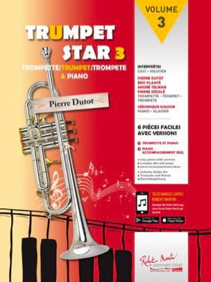 Trumpet star 3 Partition Trompette - laflutedepan