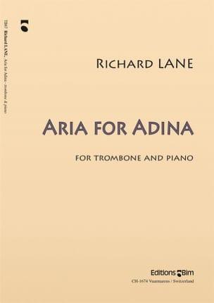 Aria For Adina Richard Lane Partition Trombone - laflutedepan