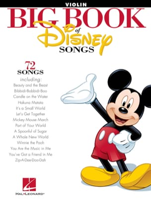 Big book of Disney songs - 72 Songs DISNEY Partition laflutedepan