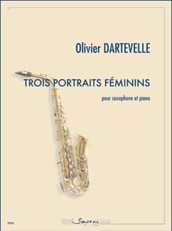 Trois portraits féminins Olivier Dartevelle Partition laflutedepan