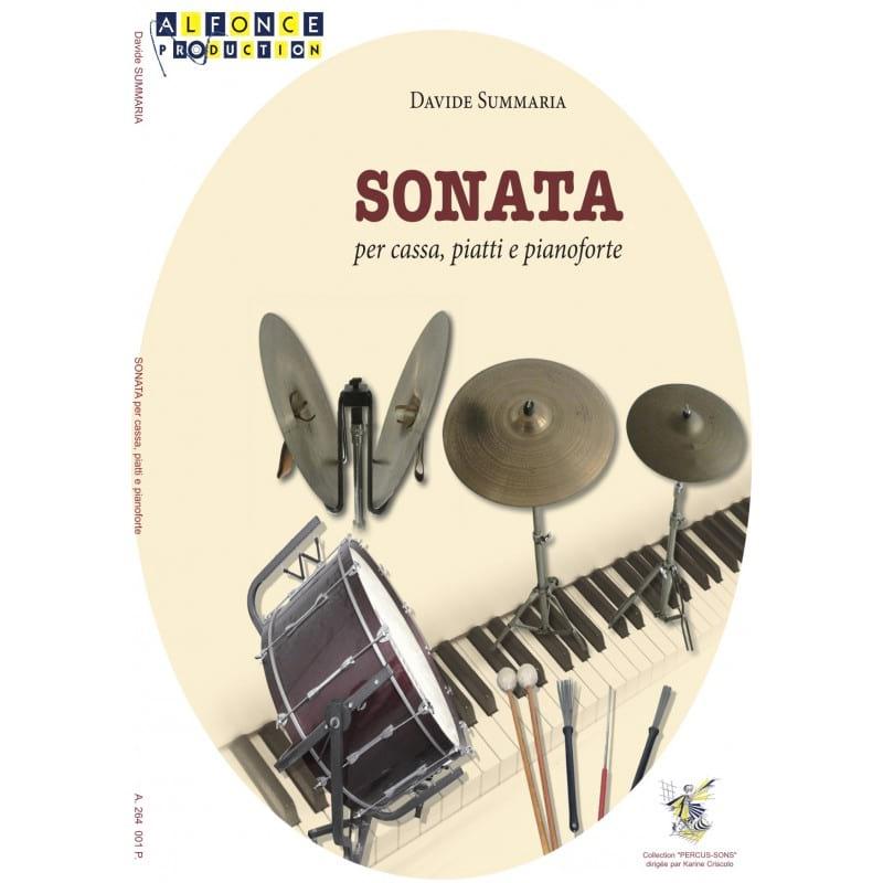 SONATA per cassa, piatti e pianoforte - laflutedepan.com