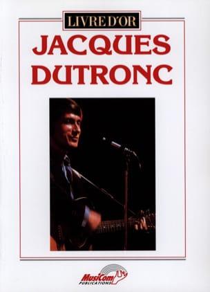 Livre D' Or - 19 Succès Jacques Dutronc Partition laflutedepan