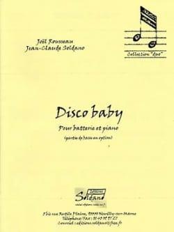 Disco Baby Rousseau Joel / Soldano Jean-Claude Partition laflutedepan