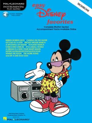Easy Disney Favorites DISNEY Partition Trombone - laflutedepan
