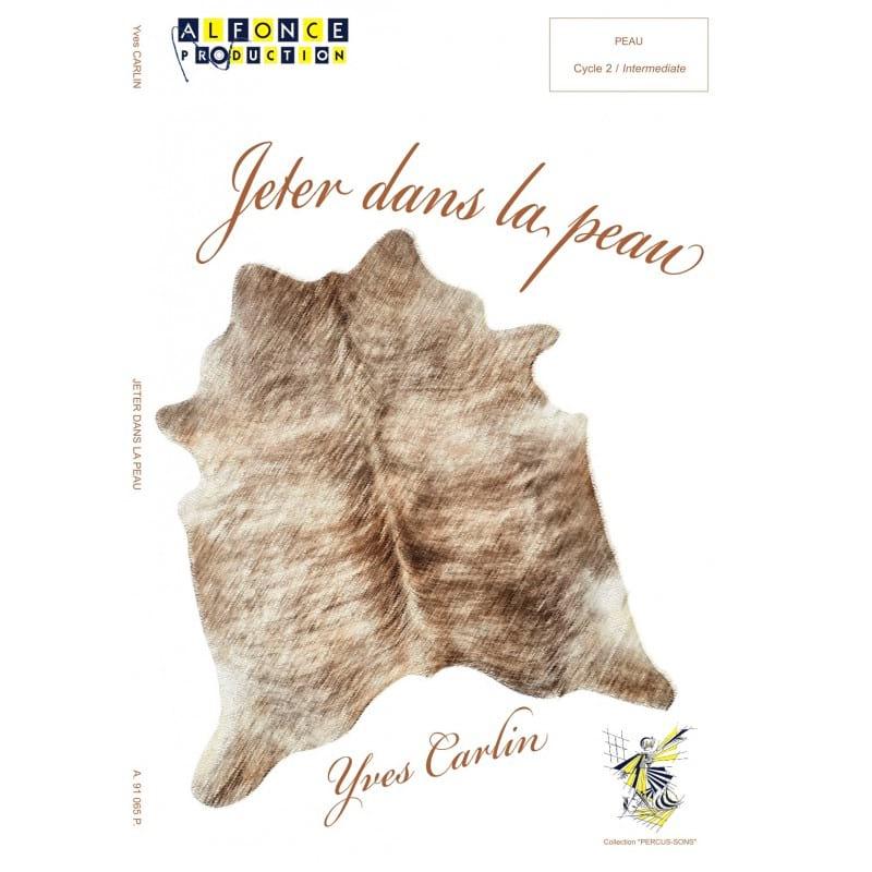 Jetter dans la peau - Yves Carlin - Partition - laflutedepan.com