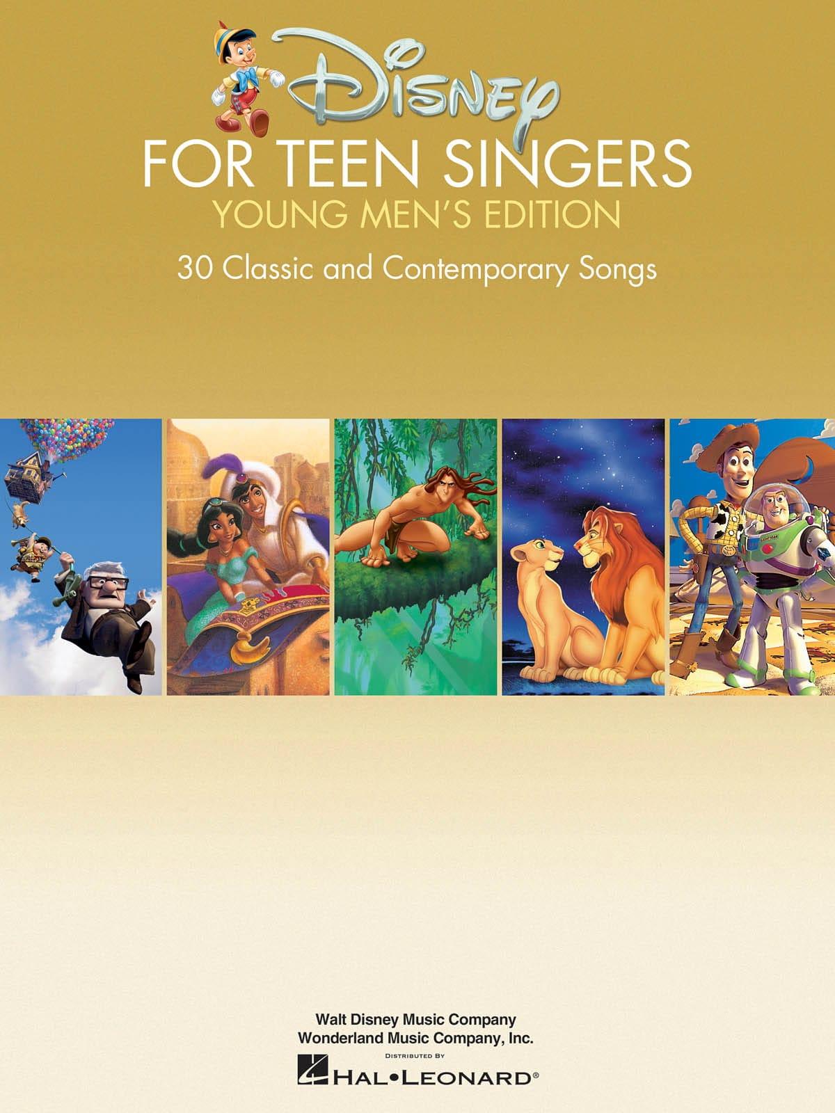 Disney For Teen Singers - Young Men's Edition - laflutedepan.com