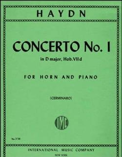 HAYDN - Concerto N ° 1 - Partition - di-arezzo.co.uk