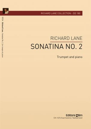 Sonatina N° 2 Richard Lane Partition Trompette - laflutedepan
