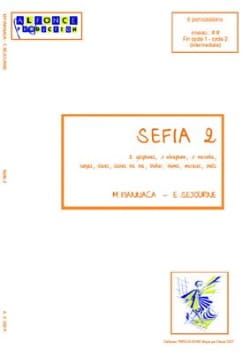 Sefia 2 Fiannaca Miguel / Séjourné Emmanuel Partition laflutedepan