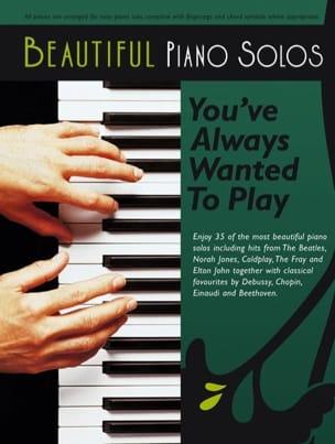 Beautiful Piano Solos - Partition - Pop / Rock - laflutedepan.com
