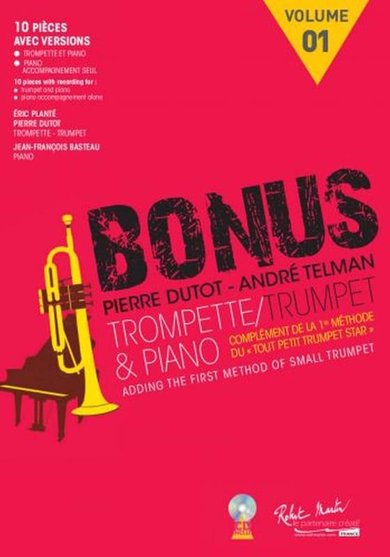 Bonus 1 - Complément de la Méthode le Tout Petit Trumpet Star - laflutedepan.com