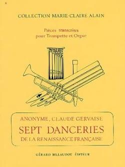 7 Danceries de la Renaissance Francaise Partition laflutedepan