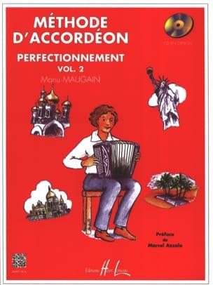 Manu Maugain - Volume 2 accordion method - Partition - di-arezzo.com