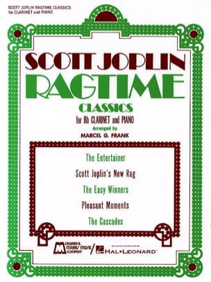 Ragtime Classics JOPLIN Partition Clarinette - laflutedepan