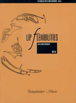 Lip Flexibilities Bai Lin Partition Trompette - laflutedepan