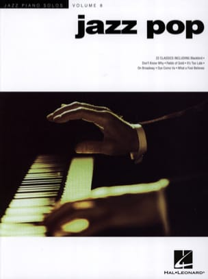 Jazz Piano Solos Series Volume 8 - Jazz Pop Partition laflutedepan