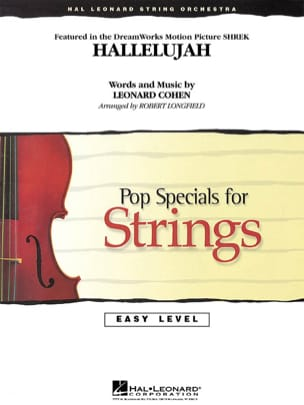 Hallelujah - Easy Pop Specials For Strings Leonard Cohen laflutedepan