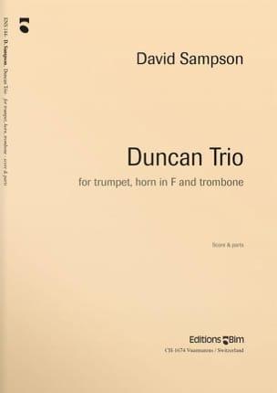 Duncan Trio David Sampson Partition Ensemble de cuivres - laflutedepan