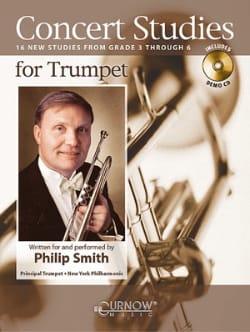 Concert studies Partition Trompette - laflutedepan