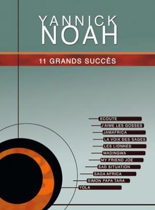 11 Grands Succès Yannick Noah Partition laflutedepan