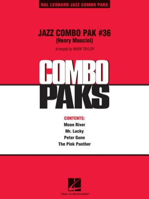 Jazz Combo Pak # 36 - Henry Mancini MANCINI Partition laflutedepan