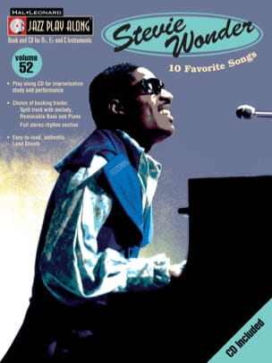 Jazz play-along volume 52 - Stevie Wonder Stevie Wonder laflutedepan