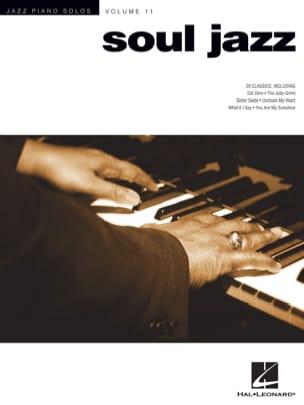 Jazz Piano Solos Volume 11 - Soul Jazz Partition Jazz - laflutedepan