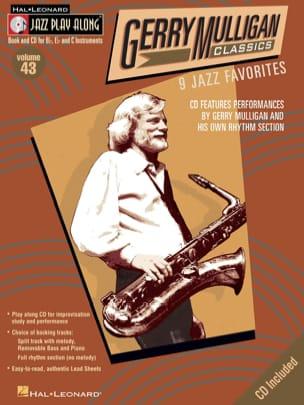 Jazz play-along volume 43 - Gerry Mulligan Classics laflutedepan