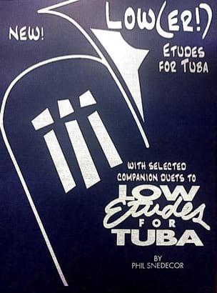 Low(er!) Etudes For Tuba - Phil Snedecor - laflutedepan.com